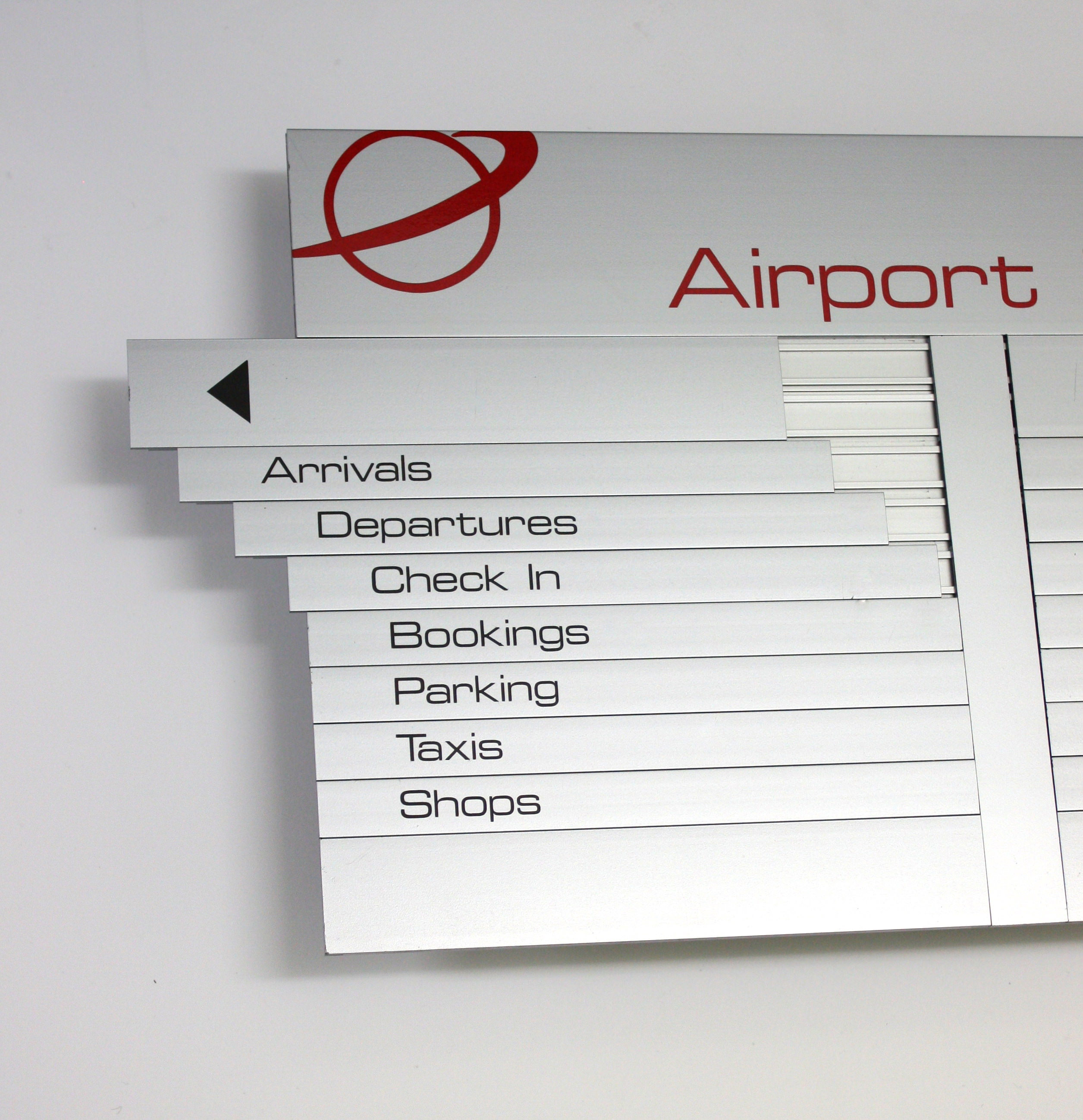AM Series Directory Board Airport 3
