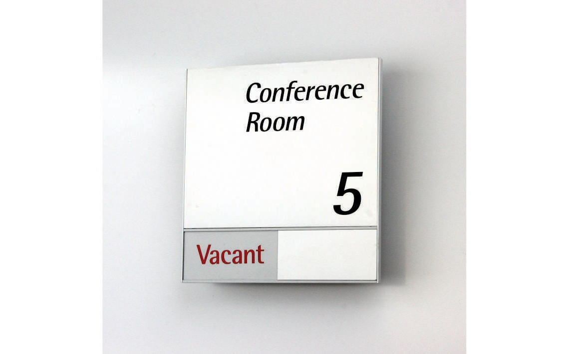 AM Series Meeting Room Sign 157.5 x 168