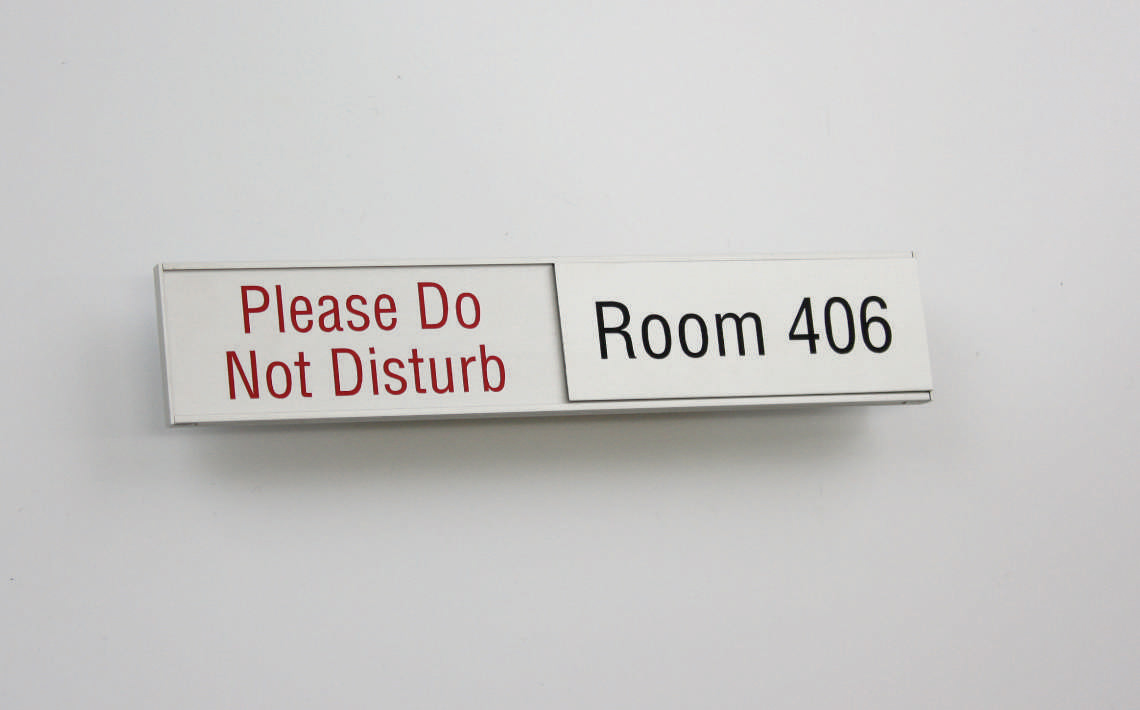 AM Series Room Occupancy Sign 157.5x42 08