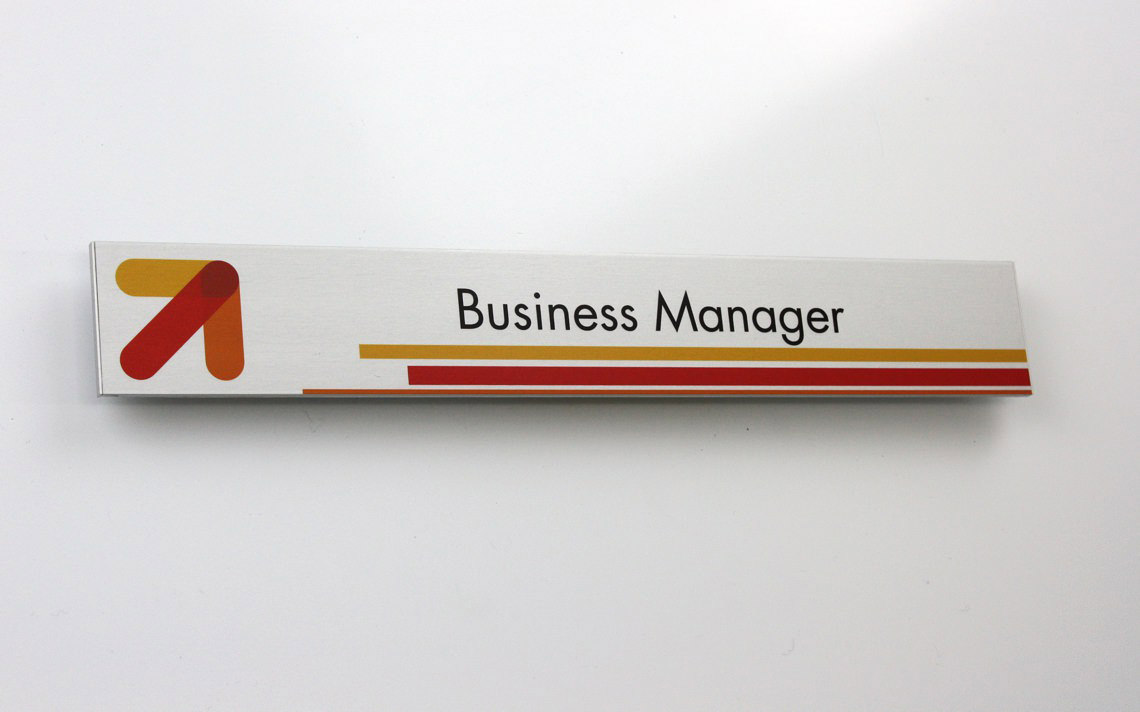 AM Series Room Sign Business Manager