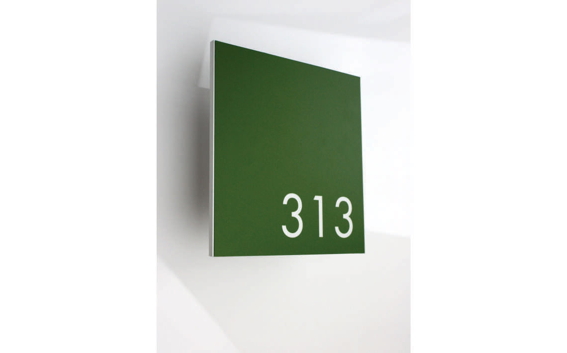 AM Series Room Sign with digital Print 210x210 03