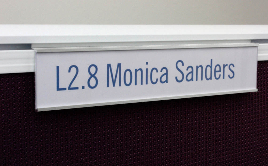 C Channel Sign 200 x 42 with PC S Bracket 1