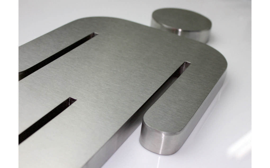Fabricate3D Male Symbol Linished Stainless Stee;