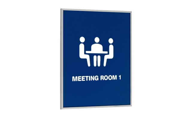 Frame-X Meeting Room Sign