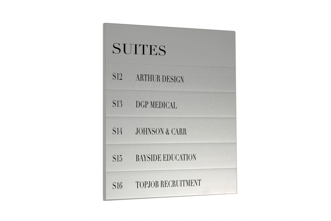 Magnetic Sign Series Directory Board
