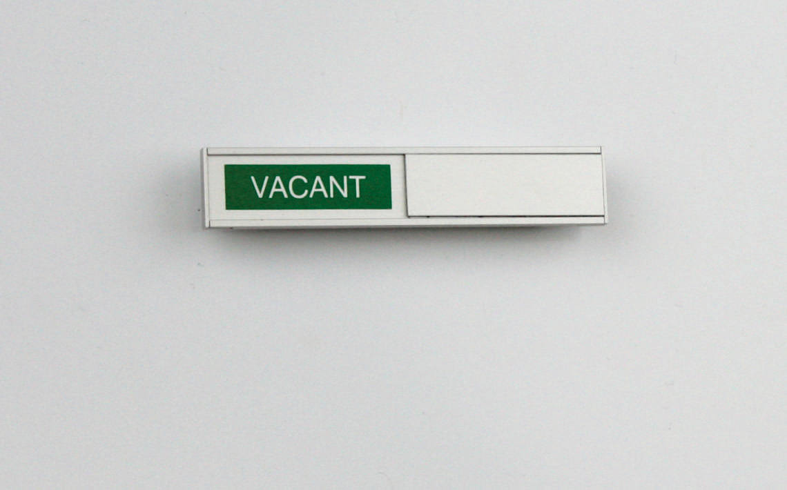 AM Series Room Occupancy Sign 105 x 21