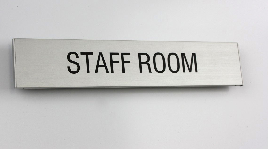AM Series Room Sign 210 x 42