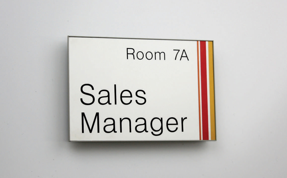 Magnetic Sign Series Door Sign 180mmX100mm 02