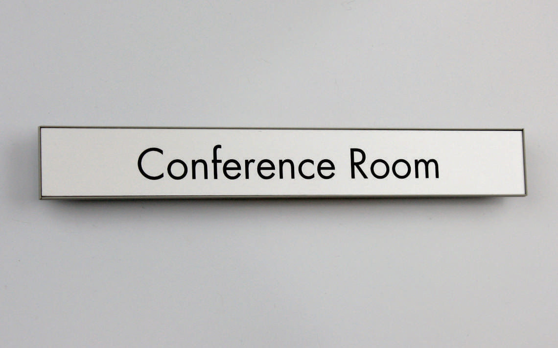 Magnetic Sign Series Door Sign 250mmX30mm 01