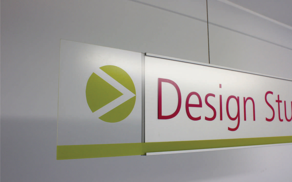 Vertex Series Suspended Sign Design Studio 4
