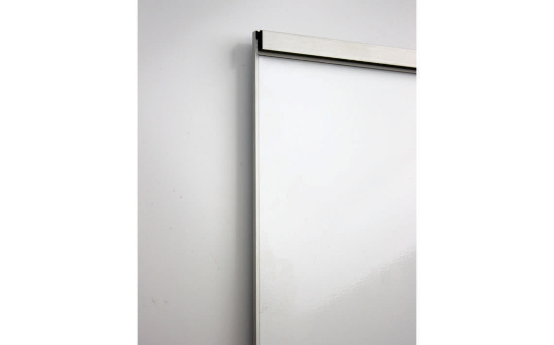 Whiteboard Series A4P 4 Sided frame with Paper Hanger Attached 2